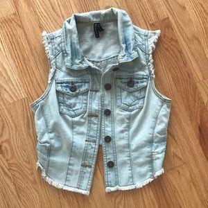 Tops - Jean vest
